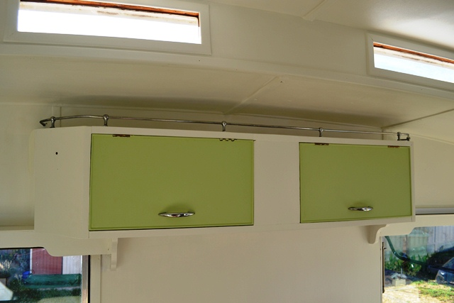 We chose Honeydew green as the feature colour for all cabinetry